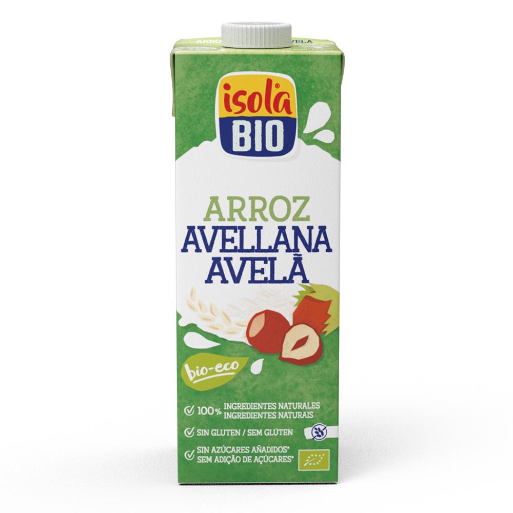 Bebida De Arroz Con Avellana