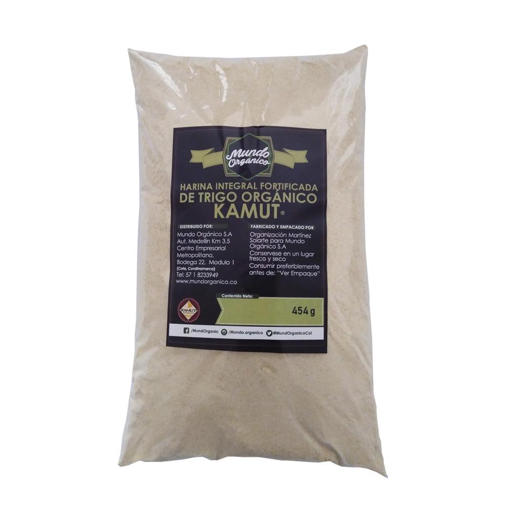 Harina Integral de Trigo Orgánico Kamut® 454 g