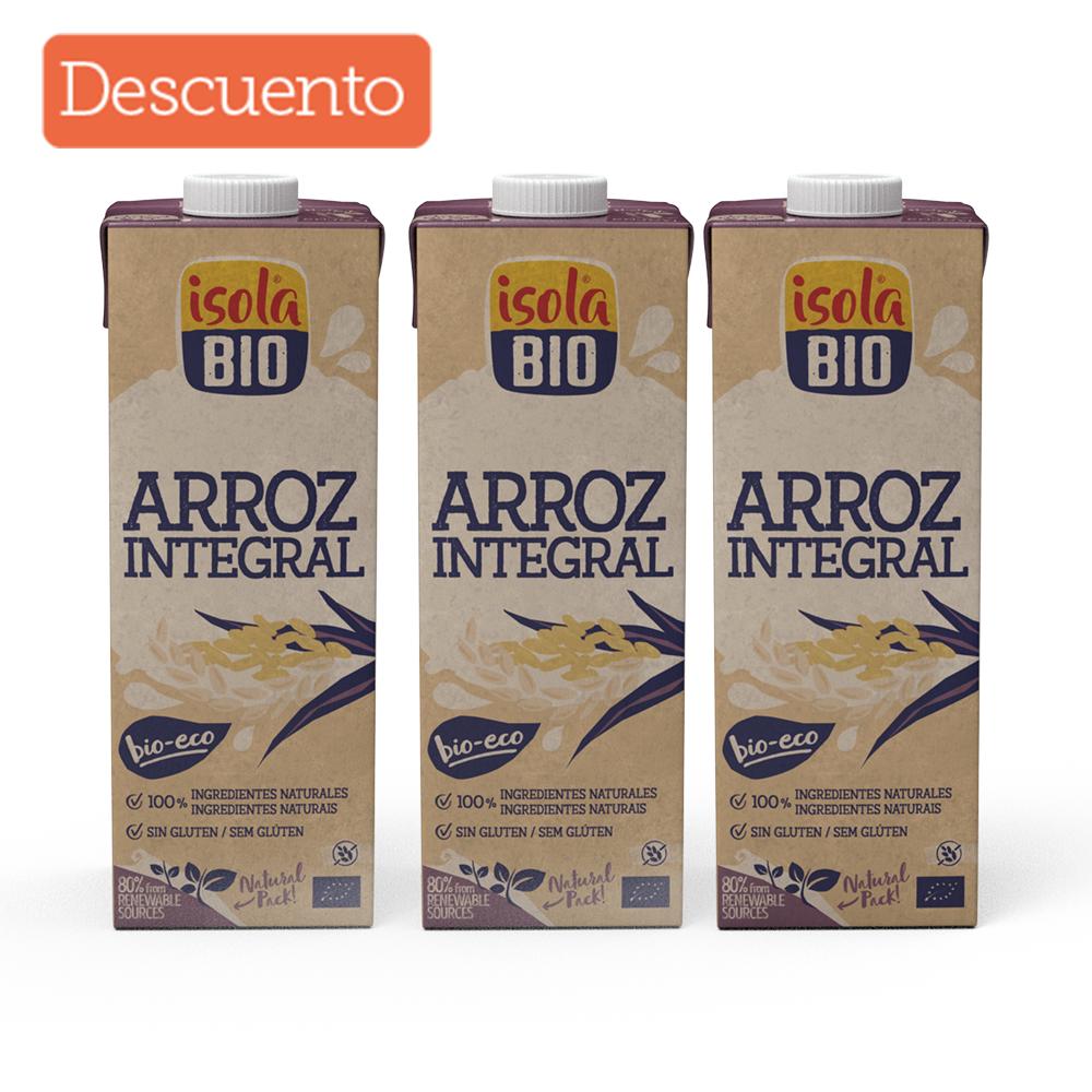 Kit x 3 Bebida de arroz integral