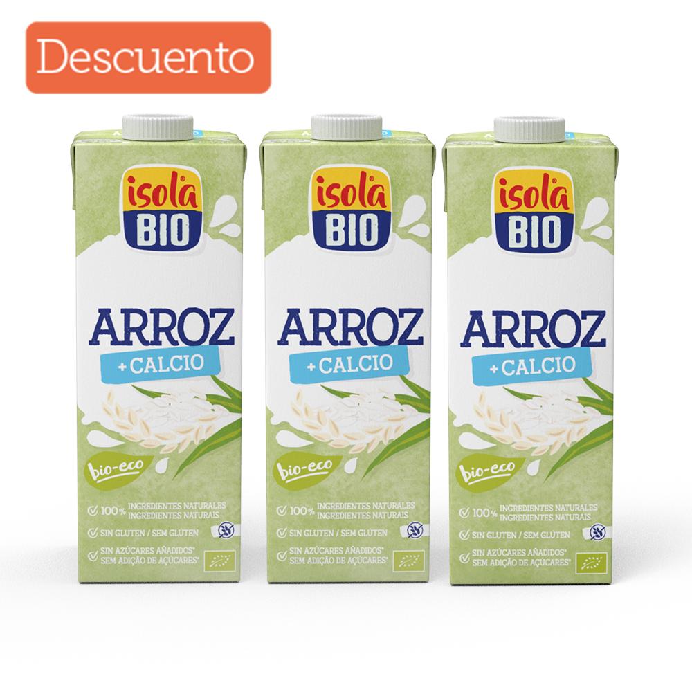 Kit x 3 Bebida de arroz calcio