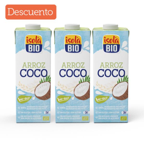 Kit x 3 Bebida de arroz coco