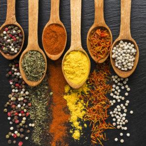 Semillas, especias y condimentos